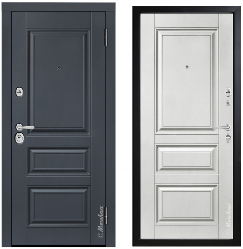 Metāla durvis mājai vai dzīvoklim