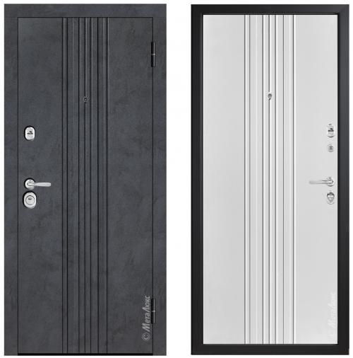 Augstas kvalitātes metāla durvis