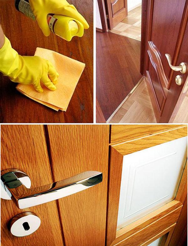 Kā kopt tērauda durvis