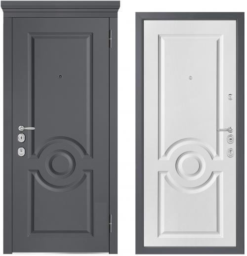 Metāla durvis M-lux ir ļoti augstas kvalitātes un ļoti elegenti izskatās jebkur.